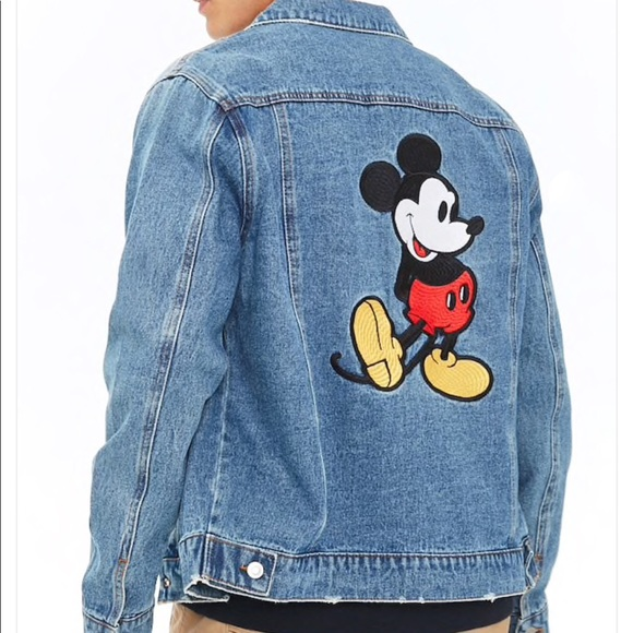 03a8c0ab1a Mickey Mouse Denim Jacket